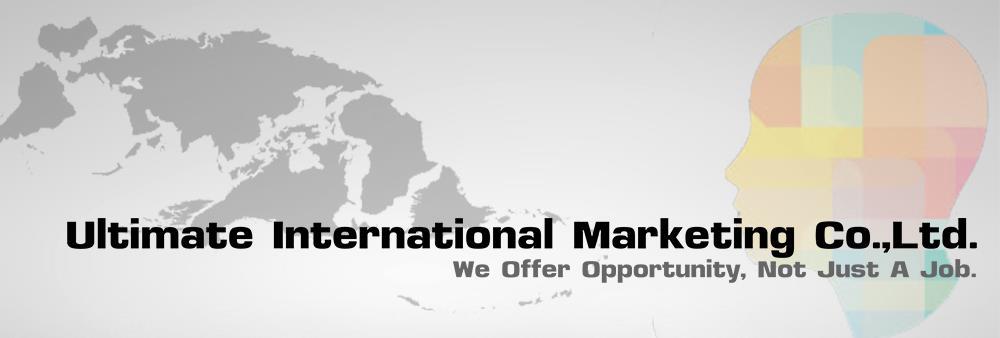 Ultimate International Marketing Co.,Ltd.'s banner