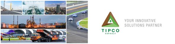 Tipco Asphalt Public Company Limited's banner