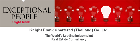 Knight Frank Chartered (Thailand) Co., Ltd.'s banner