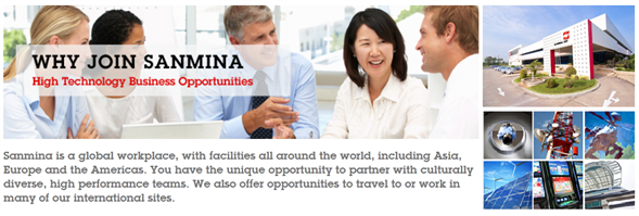 Sanmina - SCI Systems (Thailand) Ltd.'s banner