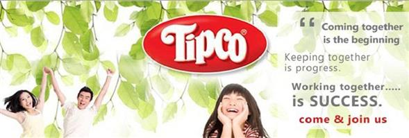 Tipco F&B Co., Ltd.'s banner