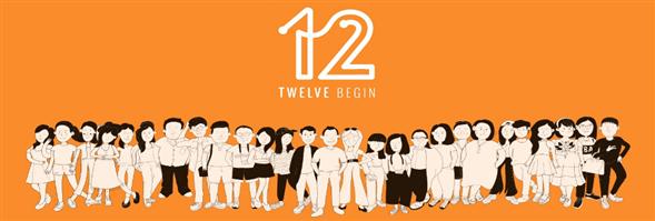 TWELVE BEGIN CO., LTD.'s banner