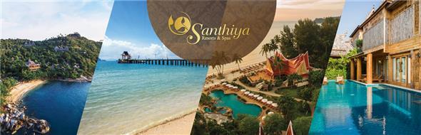 Santhiya Resorts and Spas Co., Ltd.'s banner