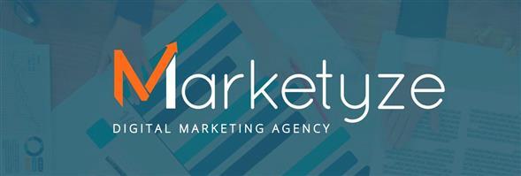 Marketyze's banner