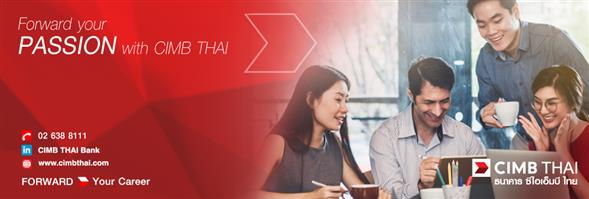 CIMB Thai Bank's banner