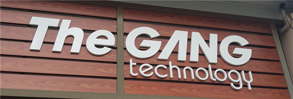 The Gang Technology Company Limited's banner