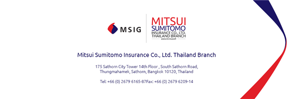 MSIG Service and Adjusting (Thailand) Co., Ltd.'s banner