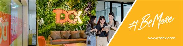 TDCX Thailand's banner