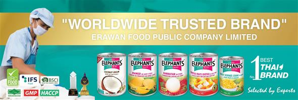 ERAWAN FOOD PUBLIC COMPANY LIMITED's banner