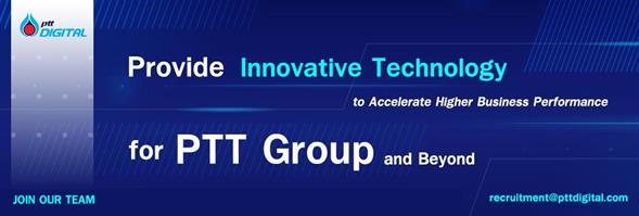 PTT Digital Solutions Co., Ltd.'s banner