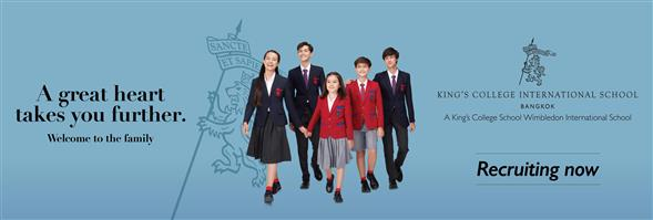 King's College International School Bangkok's banner