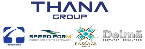 Thana Group's banner