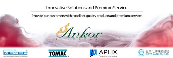 Ankor Chemicals Co., Ltd.'s banner