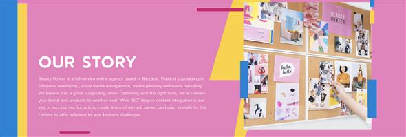 Beauty Hunter Co., Ltd./บริษัท บิวตี้ ฮันเตอร์ จำกัด's banner