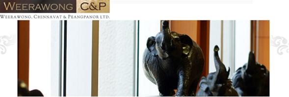 Weerawong, Chinnavat & Partners Ltd.'s banner