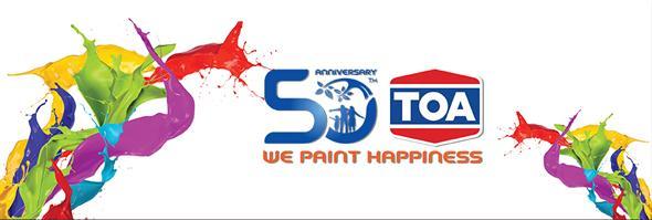 TOA Paint (Thailand) Co., Ltd./บริษัท ทีโอเอ เพ้นท์ (ประเทศไทย) จำกัด/บริษัท ทีโอเอ เพ้นท์ (ประเทศไทย) จำกัด's banner