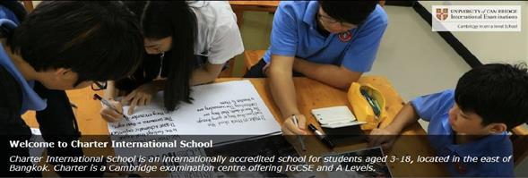 Charter Education Co., Ltd.'s banner