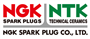 Group of NGK Spark Plugs