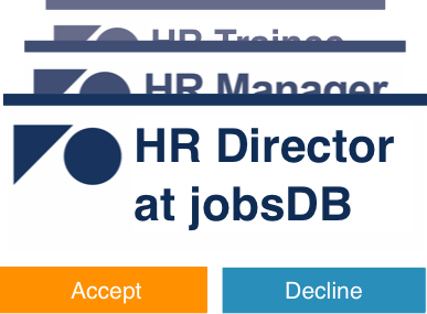 Present yourself professionally to hirers with a jobsdb profile receive exciting job invitations stopboris Choice Image